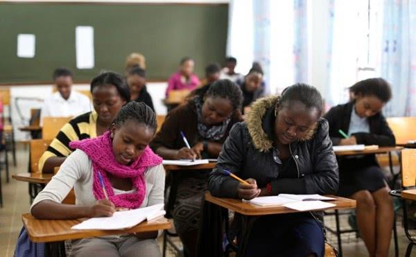 Alumnas de Kimlea, una escuela de formación profesional impulsada por el Opus Dei.
