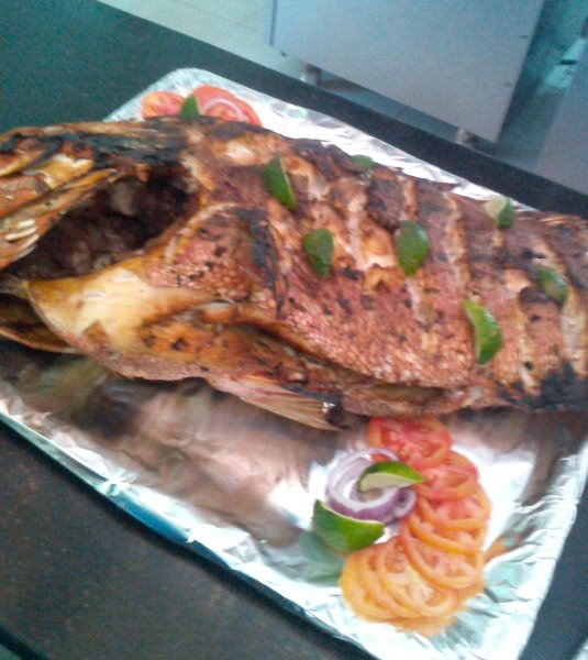 Grilled Tewa Fish
