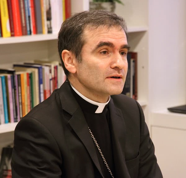 Mons. Jourdan, obispo AA de Estonia. Foto: Flickr. Opus Dei (Information Office)