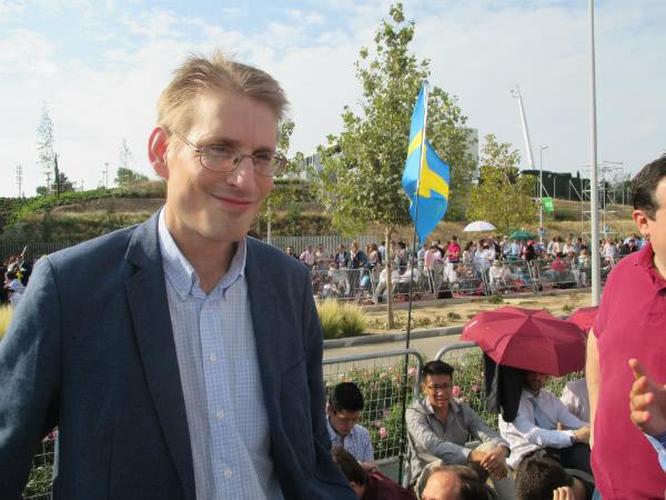 Thomas Fredestad es de Angelholm, Suecia