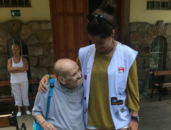 """Estudiar Enfermería, afirma Silvia, """"puede ser mi camino para ayudar a mucha gente que está peor que yo y que necesita mi ayuda""""."""