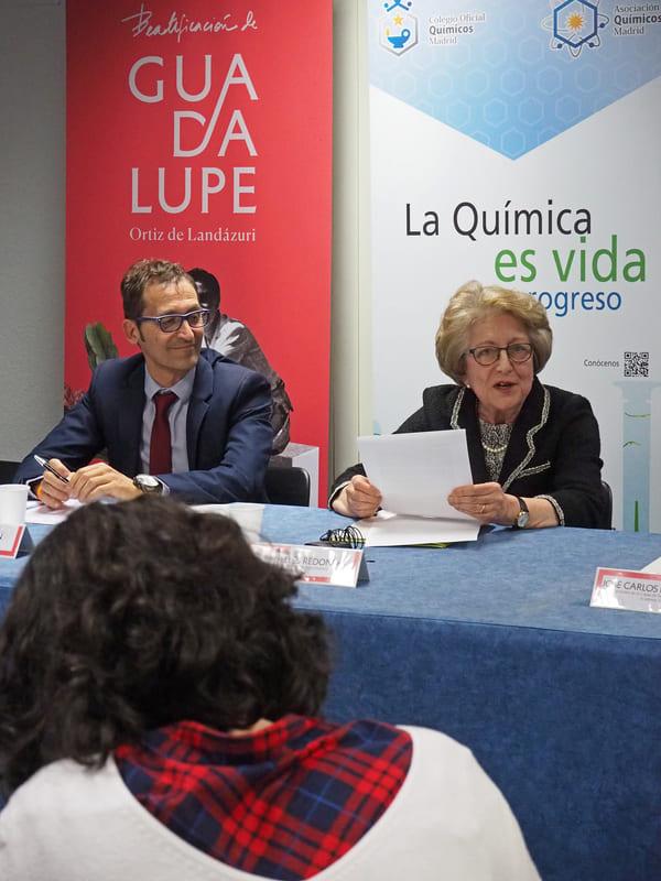 La Profesora Carmen Puelles fue alumna de Guadalupe y llegó a ser Directora de la Escuela de maestría Industrial de Santa Engracia, donde impartió clases Guadalupe durante once años
