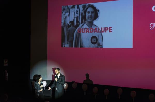 El multimedia recoge diferentes capítulos en vídeo de la vida de Guadalupe y cada uno de ellos fue introducido por un ponente