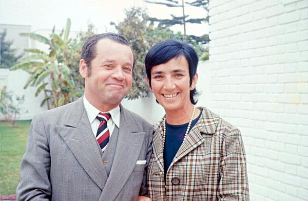 Jorge Velaochaga y su esposa Luz Rey