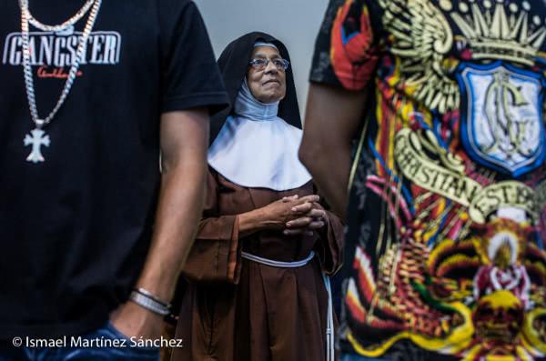 Misa dominical en la Fazenda de la Esperanza en Guaratinguetá (Brasil)