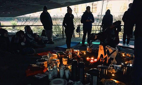 Weihnachten mit Obdachlosen Foto: AR
