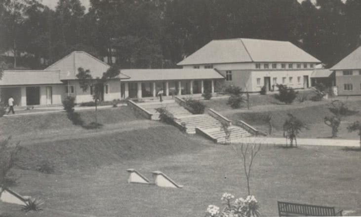 Makerere University in the early 60's