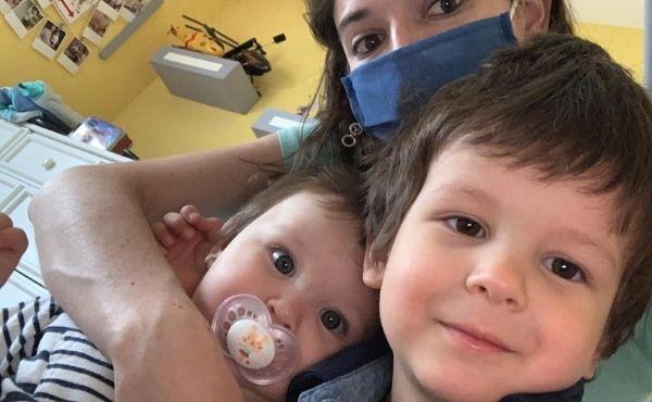 La cuñada de Gisela ayudaba a cuidar a los niños durante su hospitalización