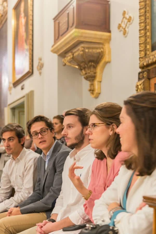 Entre los más de 200 asistentes a la ceremonia se encontraban sobrinos, sobrinos nietos y numerosos parientes políticos de la futura beata.