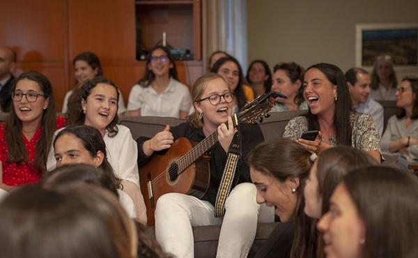 """""""Que tinguem sort"""" la cançó de Lluís Llach ha estat entonada per tots els assistents a la trobada de Bonaigua"""