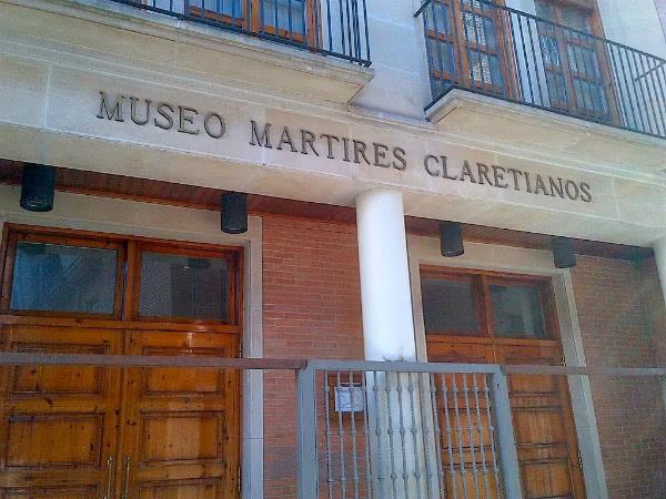 Museo de los Mártires Claretianos. Foto: rutadesanjosemaria.es