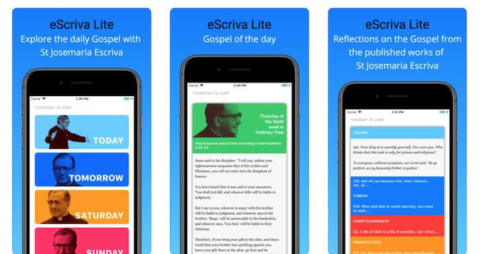 eScrivaLite: an App to pray about each day's Gospel - Opus Dei