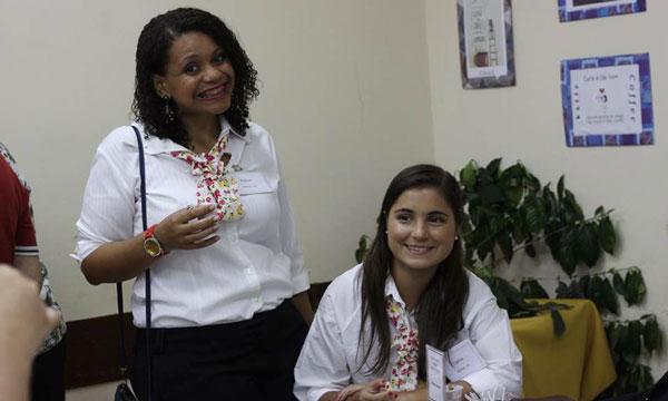 Rachel e Carina em São Paulo
