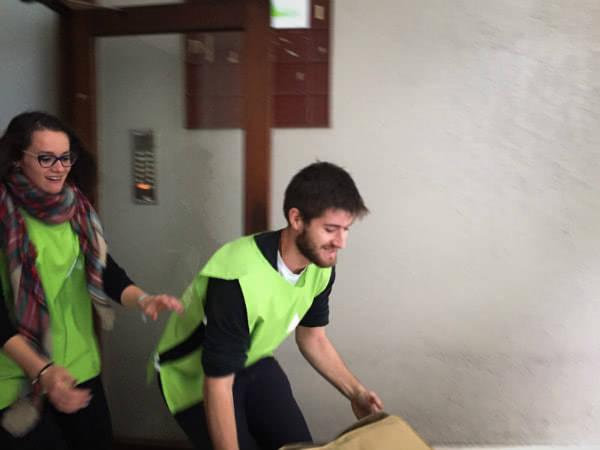 Sonsoles planteó a algunas personas de la Obra que viven en Eslovenia la posibilidad de poner en marcha un voluntariado conjunto: allí se encargarían de visitar algunos campos de refugiados.