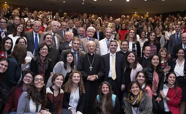 The prelate of Opus Dei at Universidad Austral.