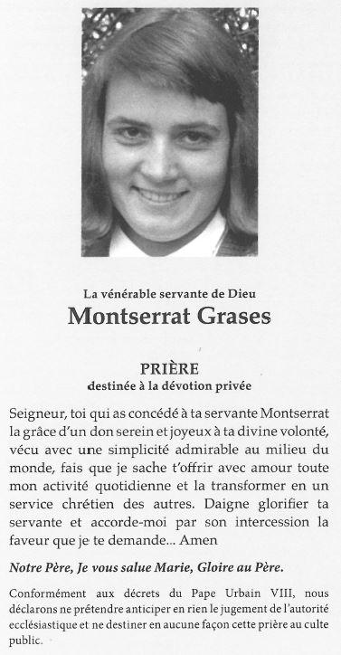 Prière à Montse