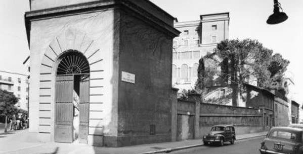 Villa Tevere a mediados de los años 50