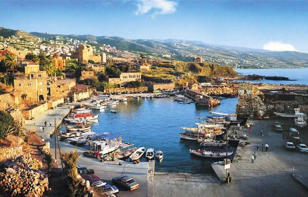 View of Byblos, Lebanon
