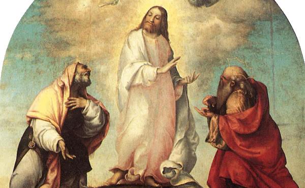 Evangelio de San Mateo en el que se relata la Transfiguración del Señor