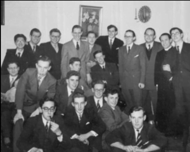Michael Richards in London 1958 (4th from the right, standing)