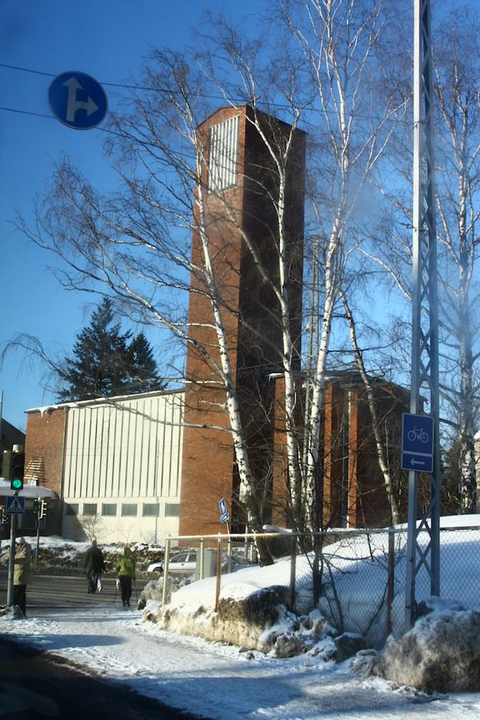 Pyhän Marian kirkon suunnitteli Kaj Salenius.