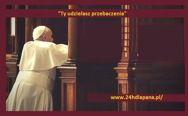 """Papieski apel o włączenie się w """"24 godziny dla Pana"""""""