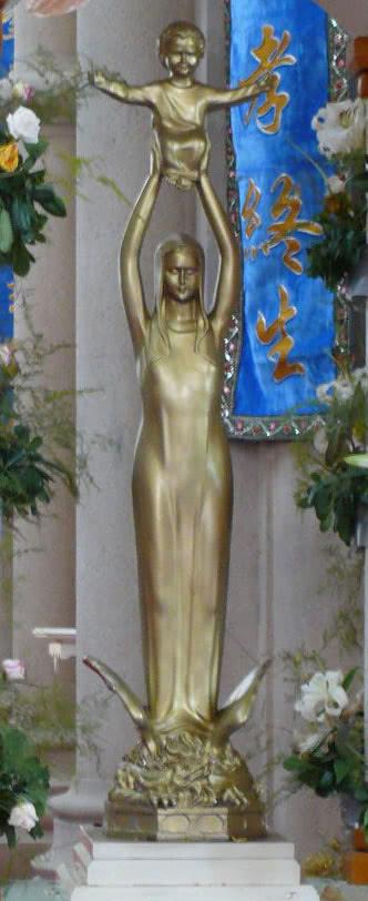 Bem-Aventurada Virgem Maria 'Auxílio dos cristãos', santuário de Sheshan.