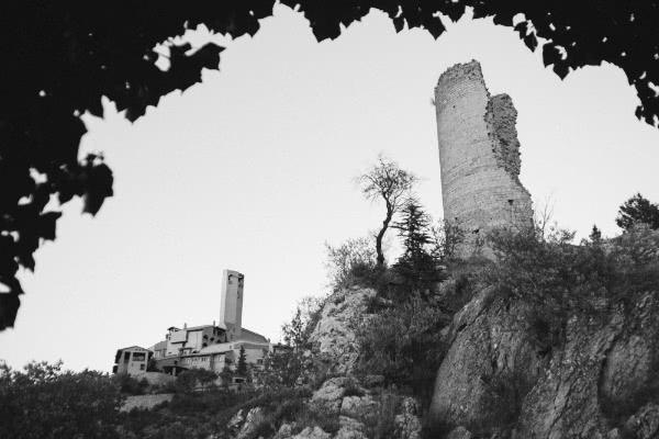 El Santuario de Torreciudad, visto desde la Ermita.