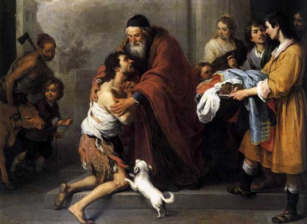 O regresso do filho pródigo, Murillo