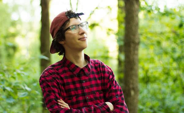Ignas es un voluntario de 23 años que ayudará en Vilnius.