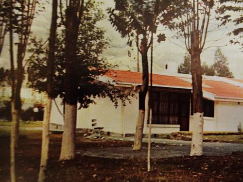 Casa donde se hospedó san Josemaría. Estos patios fueron el escenario de las tertulias con múltiples personas los días 13 y 14 de agosto.