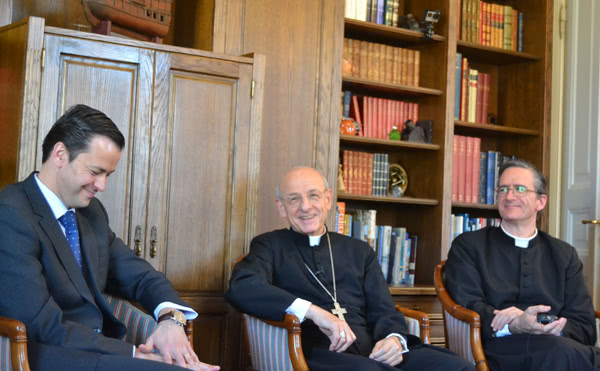 Möte med några medlemmar i Opus Dei