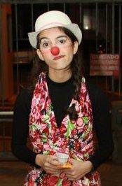 "Mirian atua como Clown desde o segundo ano da faculdade: ""Descobri o meu clown. Você descobre, encontra dentro de si mesma, ao invés de inventar."