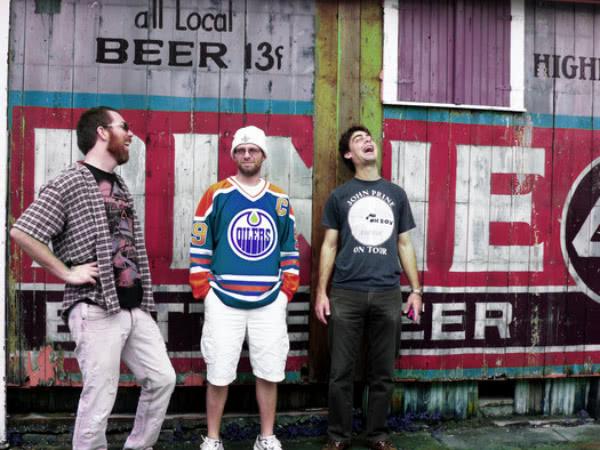 Grunge Jazz Organ Trio (met rechts Daniel).