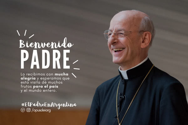 Memo o wizycie Ojca w Argentynie