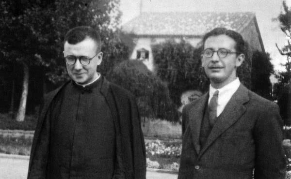 São Josemaria com Álvaro del Portillo (1939)
