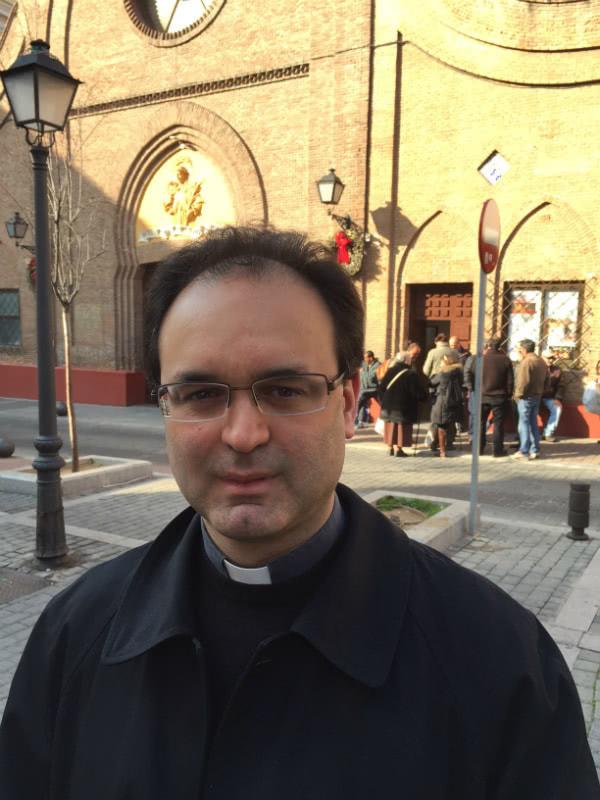 José Manuel Horcajo, párroco de san Ramón Nonato.