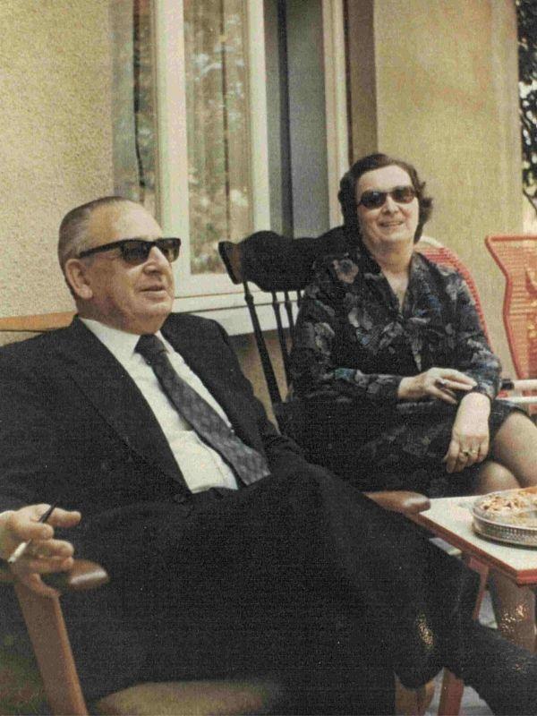 Los padres de Toni, Giusto y Antonia