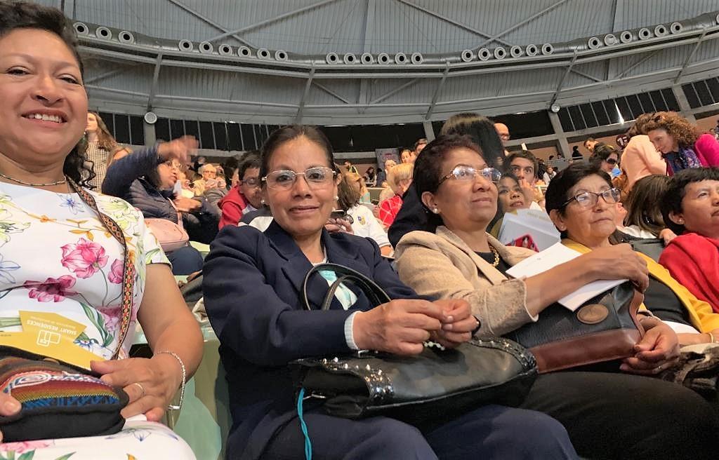Presencia de peruanas en Vistalegre