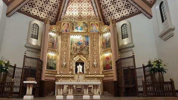 June 26, 2019. 10:00 am. Santuario de San Josemaria, Gerona. Bishop Enrique Macaraeg (Tarlac)