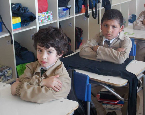 Actualmente el Colegio Puente Maipo cuenta con matrícula hasta tercero básico.