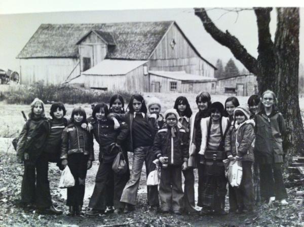 À la campagne, années '70