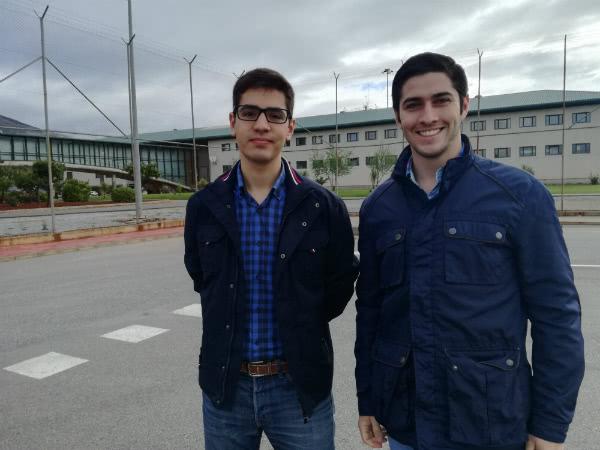 Pedro y Jaime participan en la Pastoral Penitenciaria de la archidiócesis de Granada.