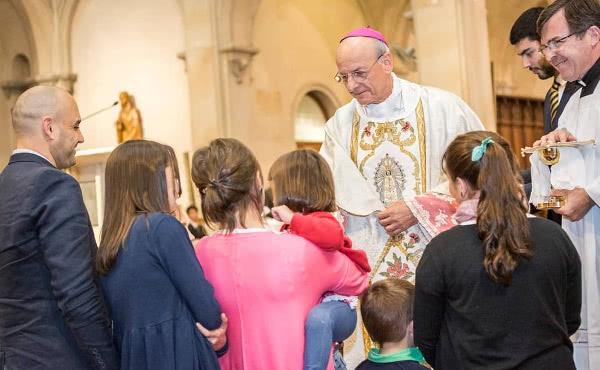 La veille, lors de la célébration de la Messe à San Benito