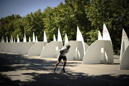 les confessionnaux du Parc du Retiro, Madrid, JMJ 2011