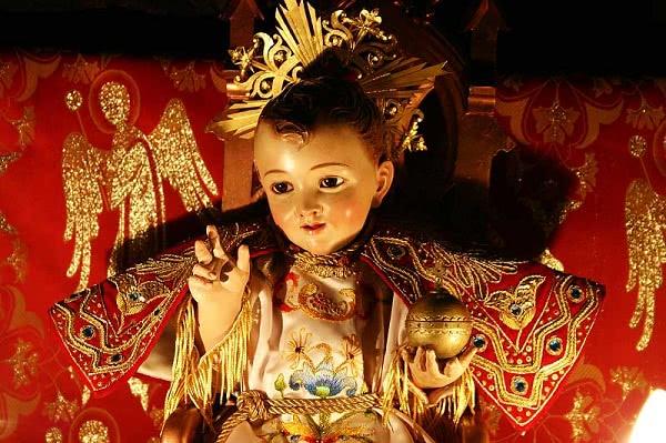 Niño Jesús de la Gruta de la Natividad en Jerusalén