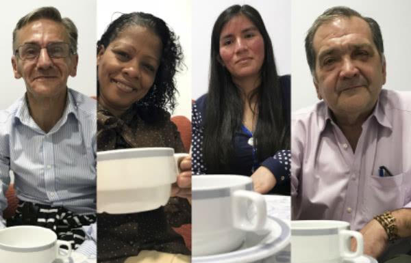 """Ángel, Calista, Elita y José Manuel son """"los cuatro resucitados de Puente de Vallecas"""", protagonistas de un reciente reportaje publicado en El Mundo."""