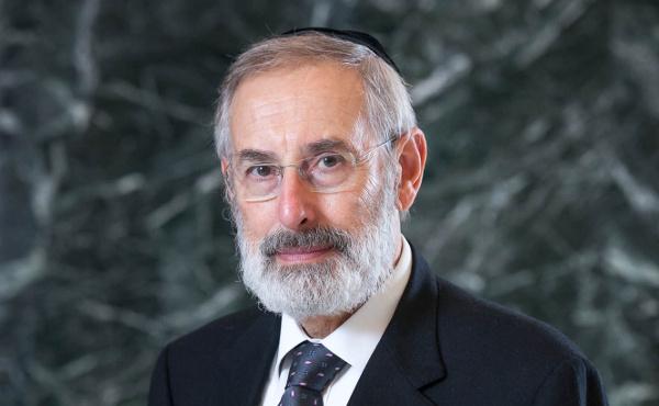 Riccardo Di Segni, rabino jefe de la sinagoga de Roma.