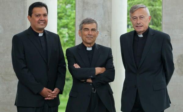 Emanuel Estrada, Gabriel Robledillo y Javier Pérez.