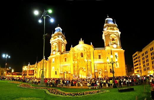 Catedral de Lima en Semana Santa